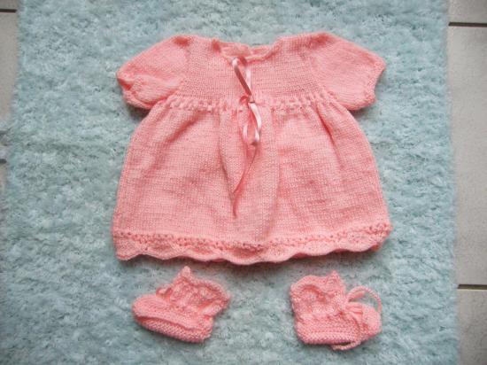 tricotage layette bebe